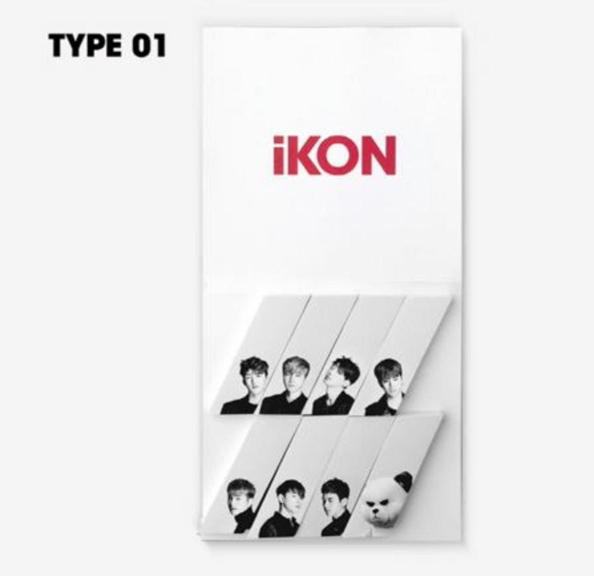 iKON - iKON X KRUNK 便利貼 款 1 [iKONCERT 2016 'SHOWTIME TOUR' MD]