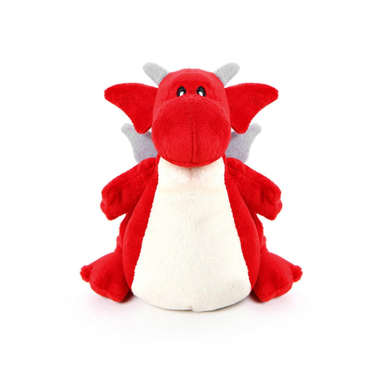 暖包公仔_ Dragon_紅色