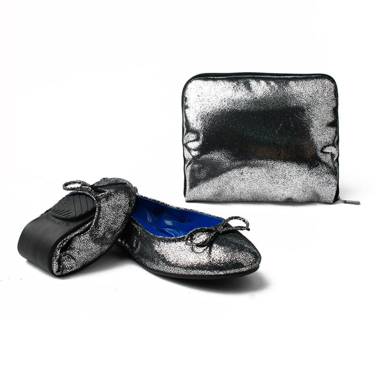 閃爍摺疊式平底鞋_GOGO_4MPS