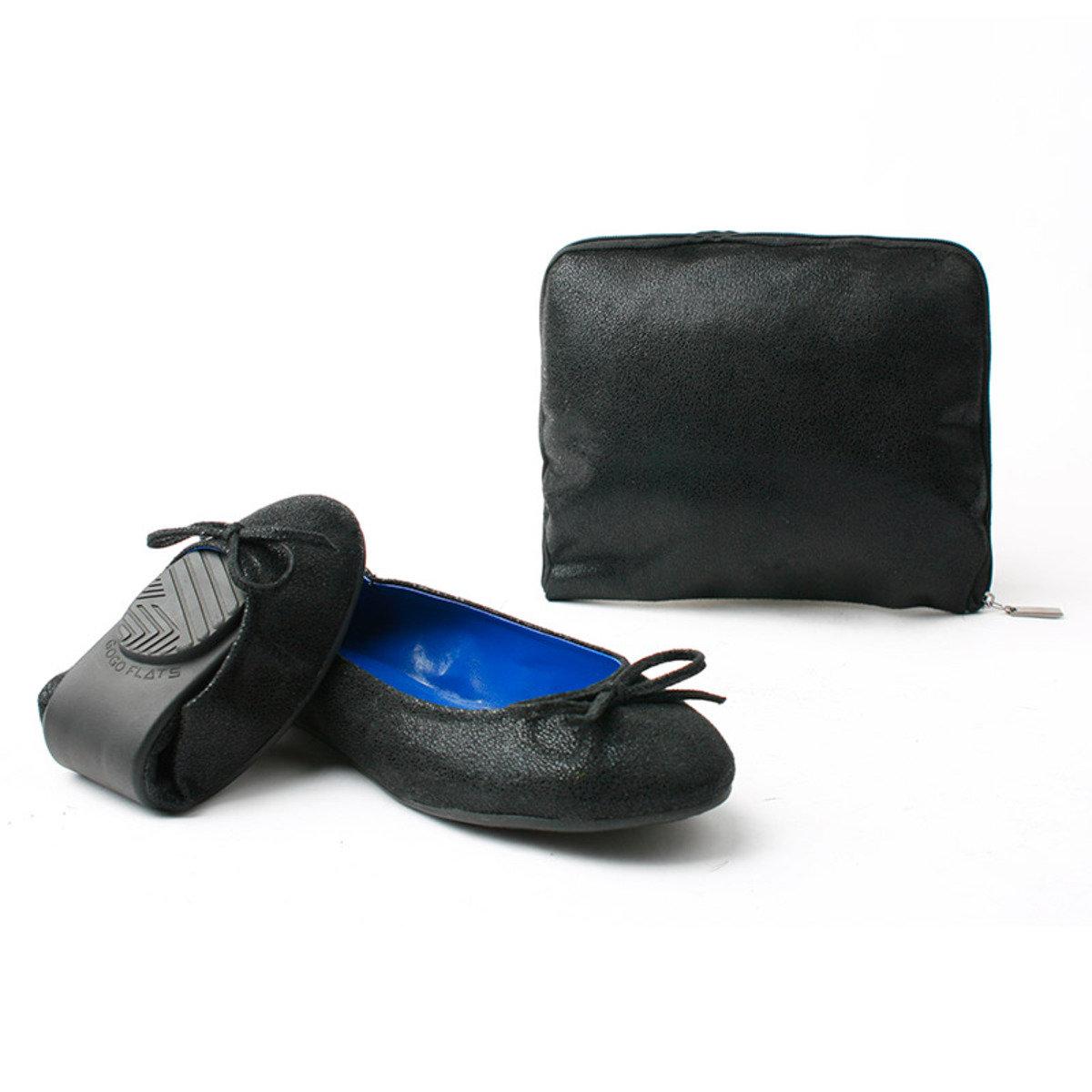 閃爍摺疊式平底鞋_GOGO_4MPB
