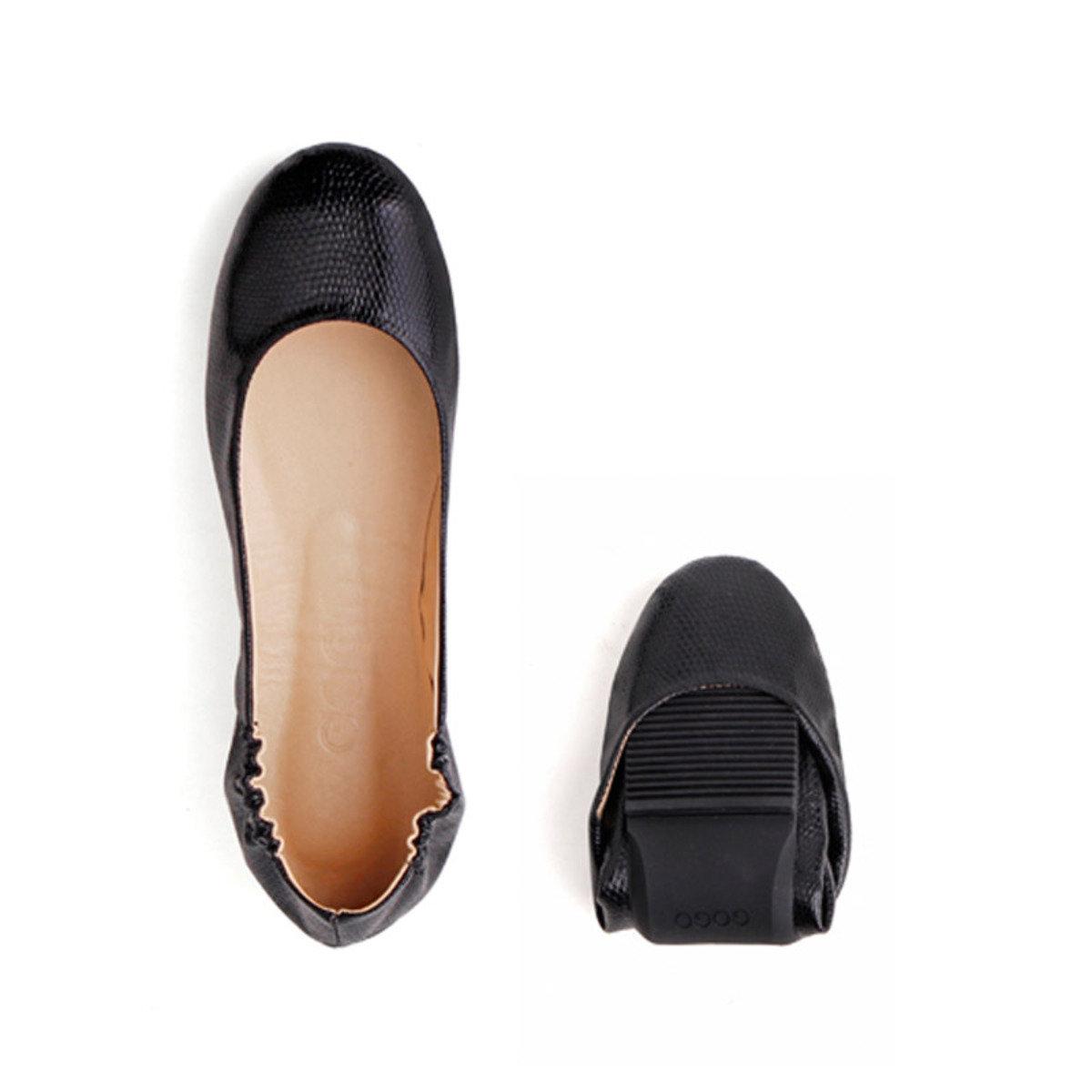 基本摺疊式平底鞋_GOGO_5BLK