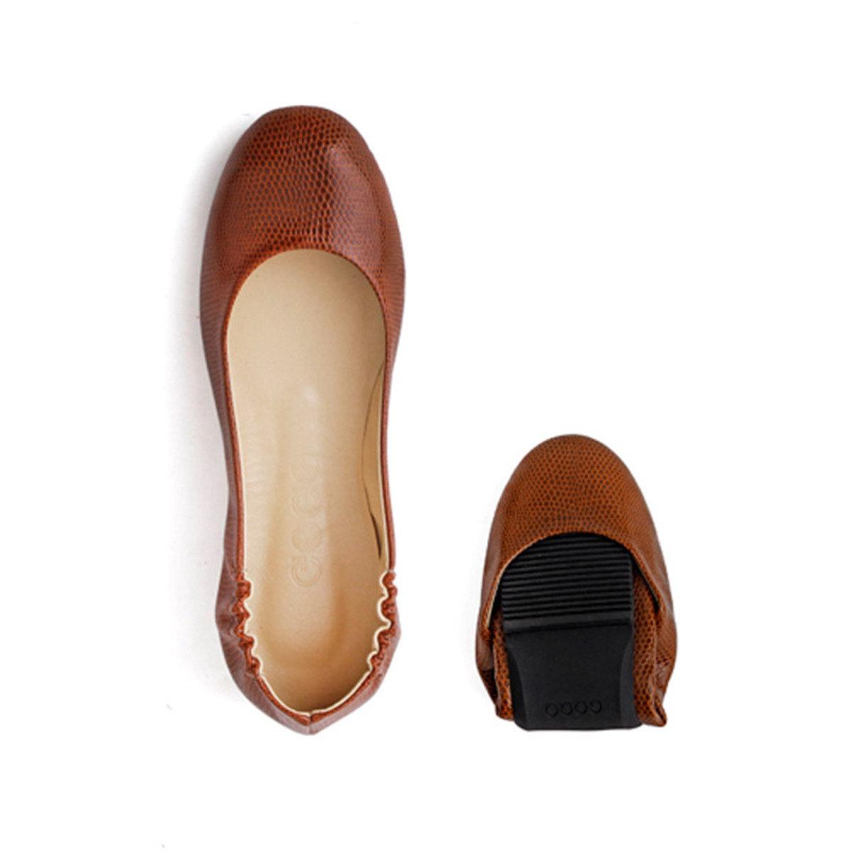 基本摺疊式平底鞋_GOGO_5BR