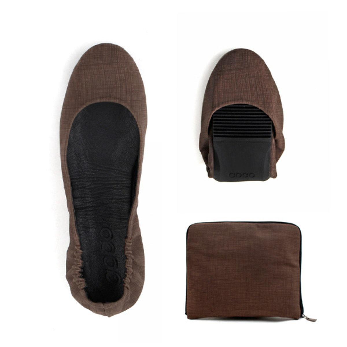 單色摺疊式平底鞋_GOGO_9BR