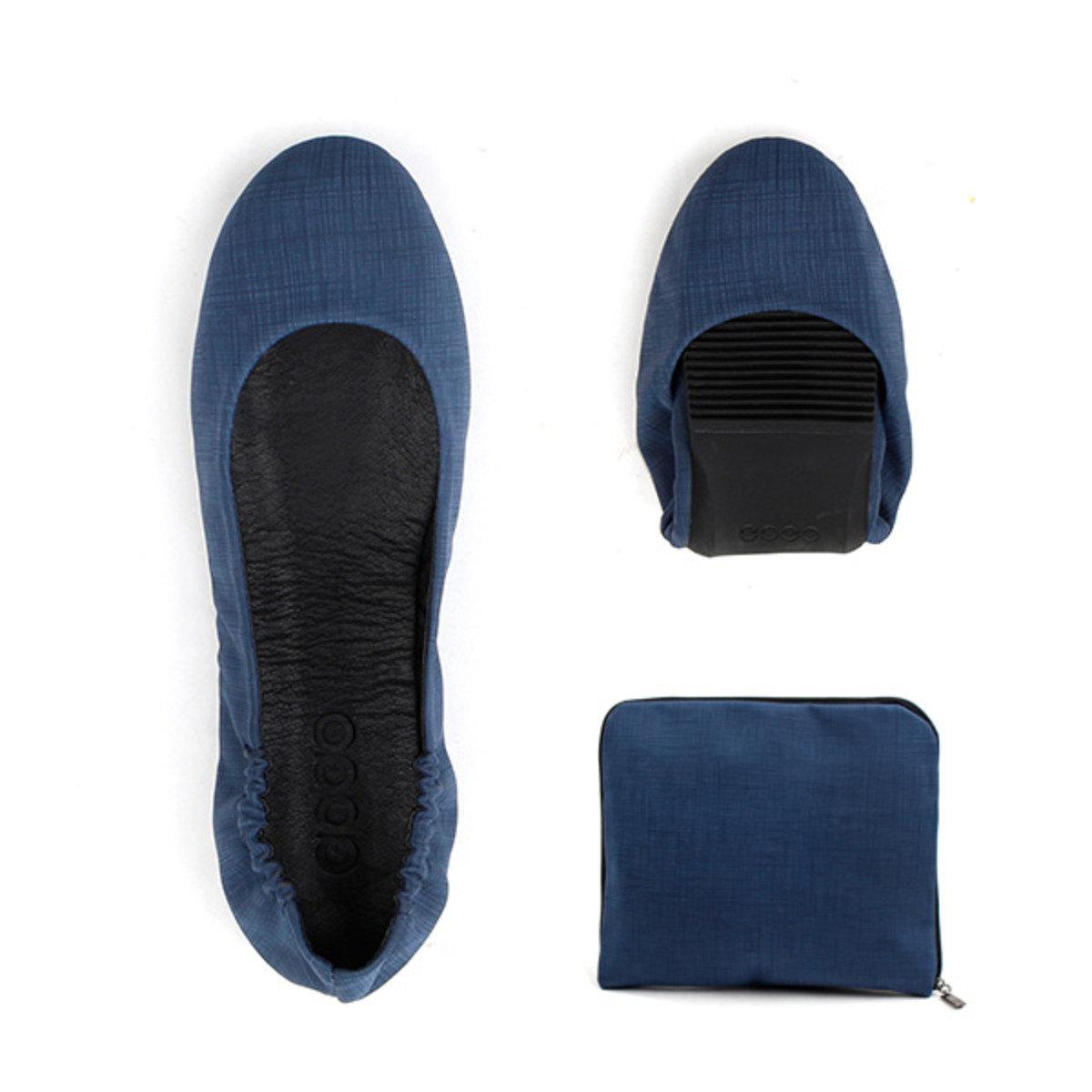 單色摺疊式平底鞋_GOGO_9NY