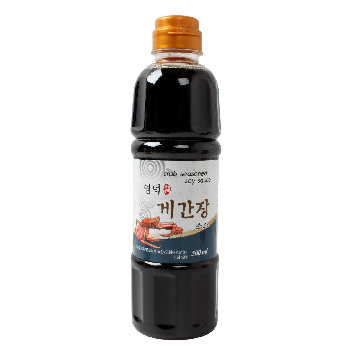 盈德蟹醬油 500毫升