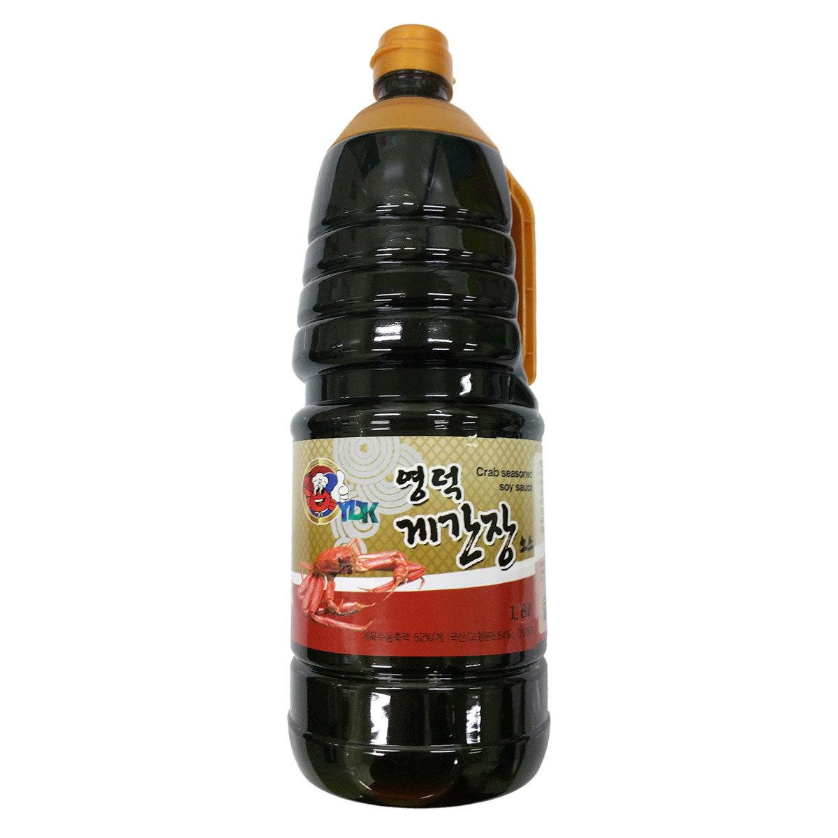 盈德蟹醬油 1.8升