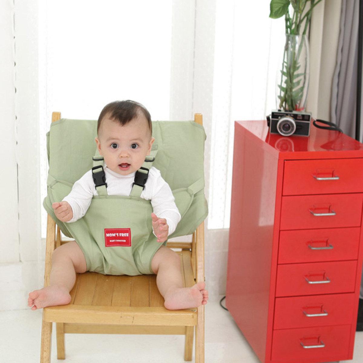 嬰兒安全坐位椅套 (綠色)_Booster3