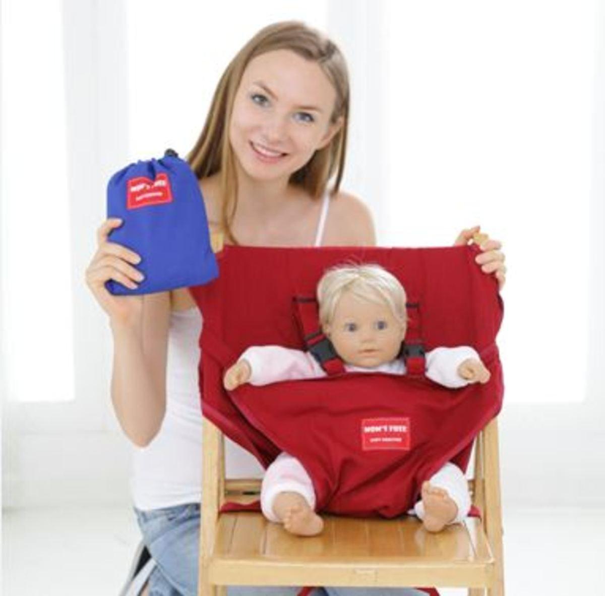 嬰兒安全坐位椅套 (紅色)_Booster4