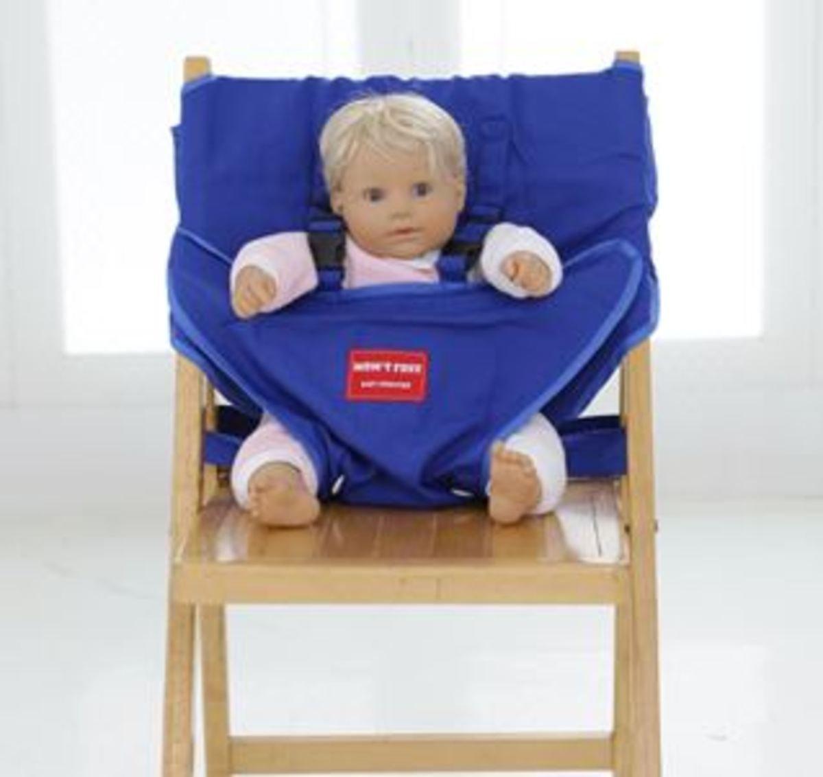 嬰兒安全坐位椅套 (藍色)_Booster5