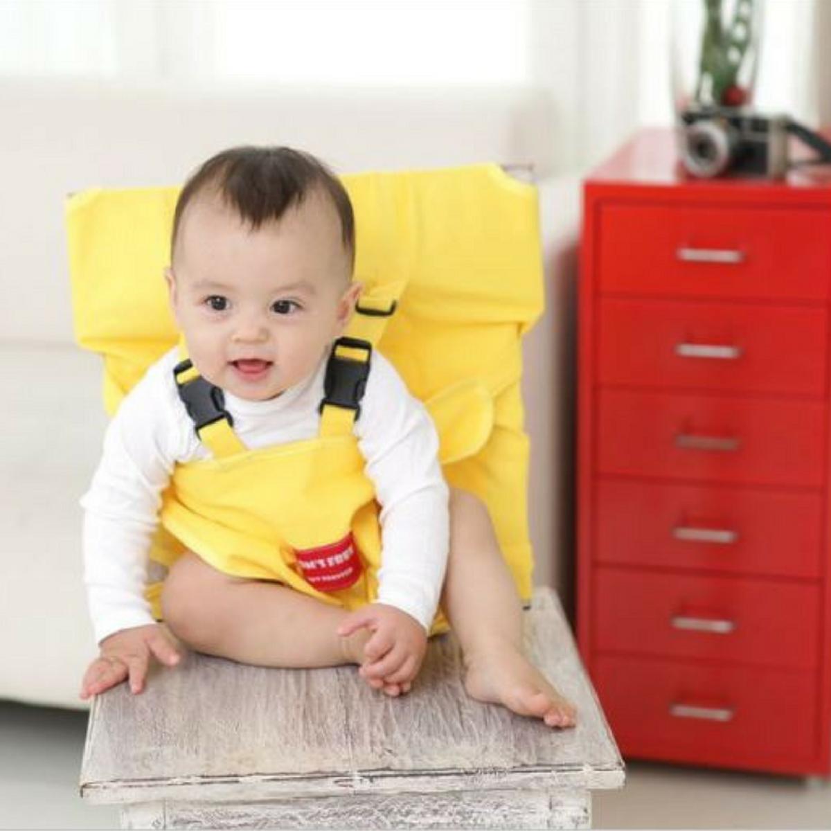 嬰兒安全坐位椅套 (黃色)_Booster2