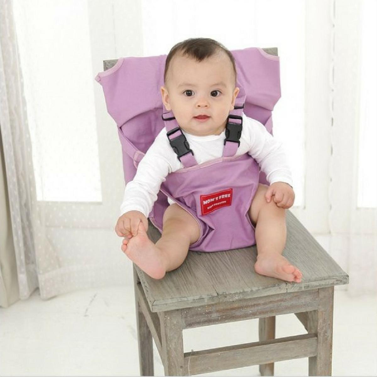嬰兒安全坐位椅套 (紫色)_Booster1