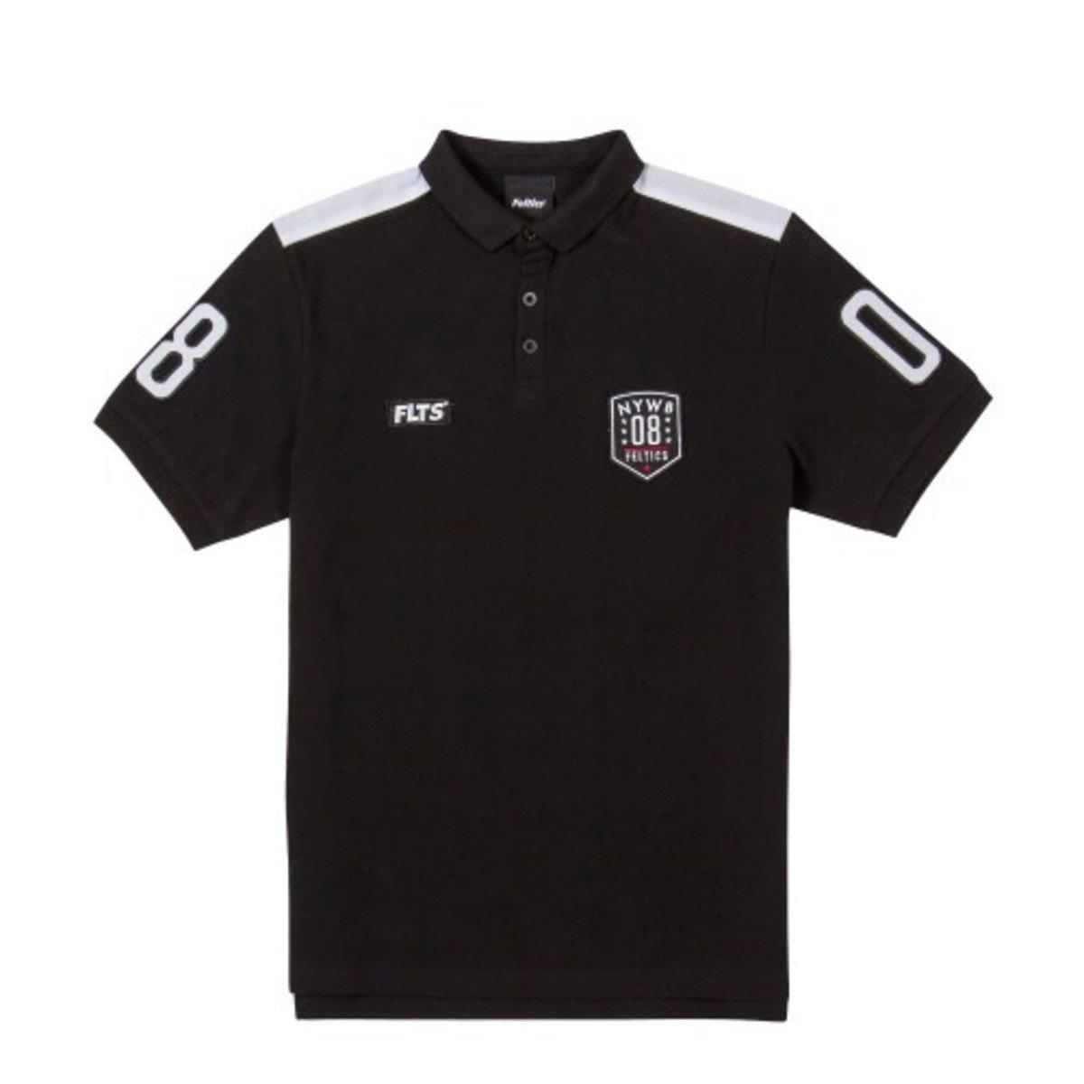 NYWB 08反領款短袖T恤