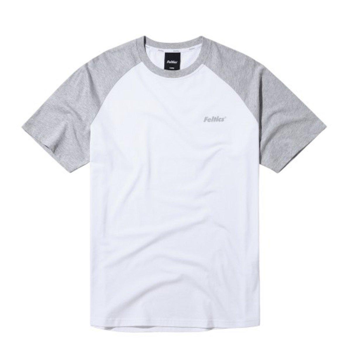 圓領拼色款短袖T恤