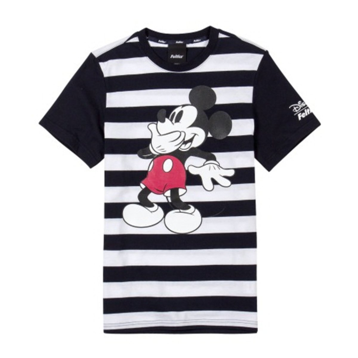 DISNEY MICKEY 公仔間色短袖T恤_FEOBMTS52
