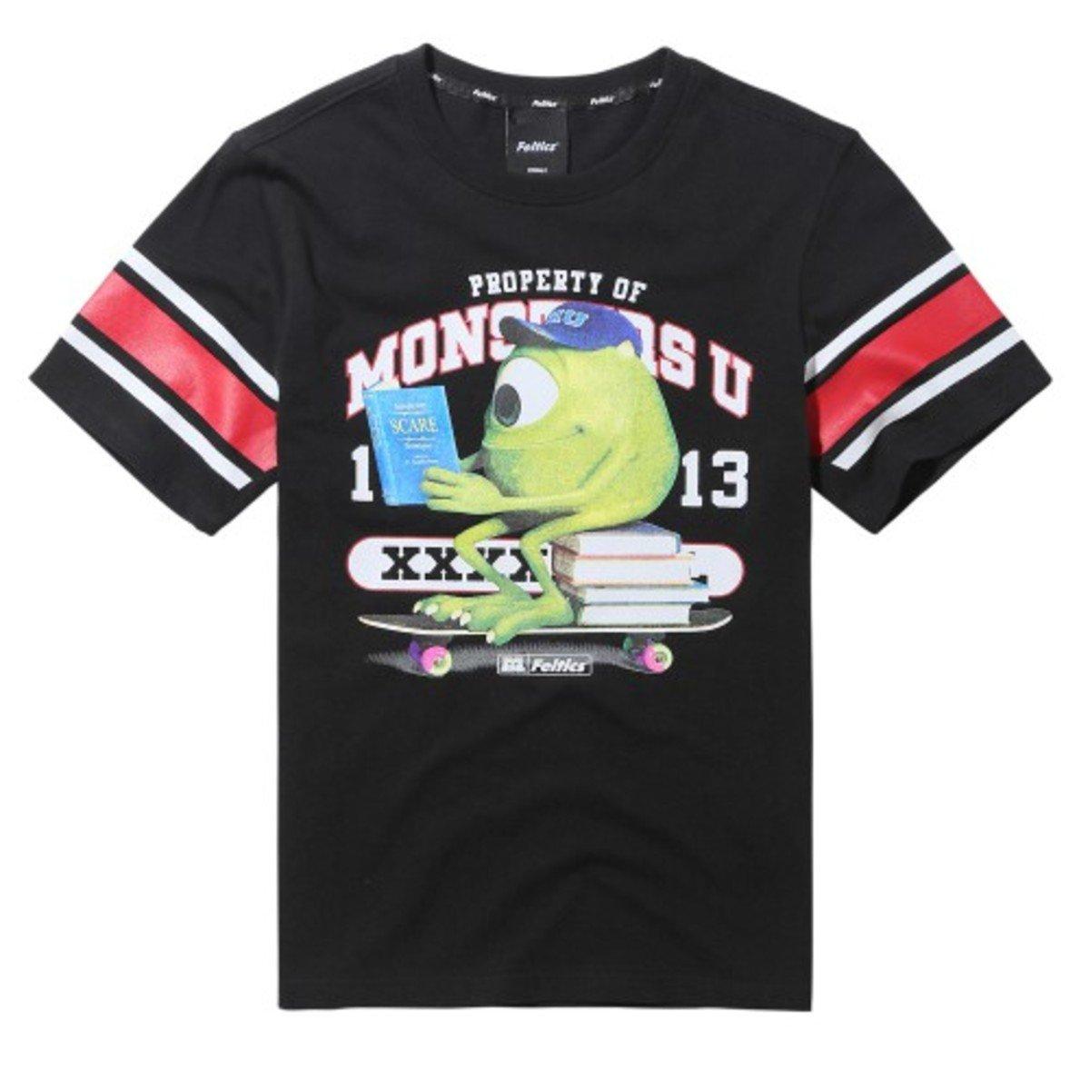 DISNEY MONSTER MIKE 短袖T恤_FEOBMTS57