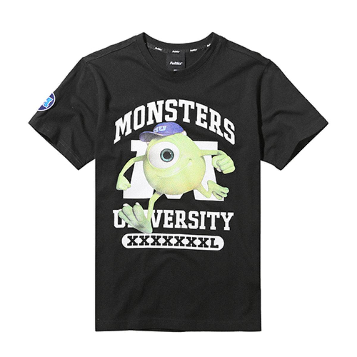 DISNEY MONSTER MIKE 純色短袖T恤_FEOBMTS61