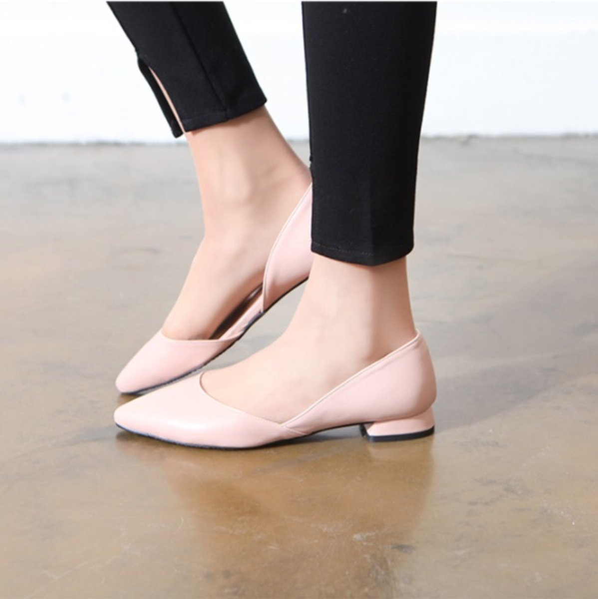 Ollie Office Flat Shoes Hktvmall Online Ping