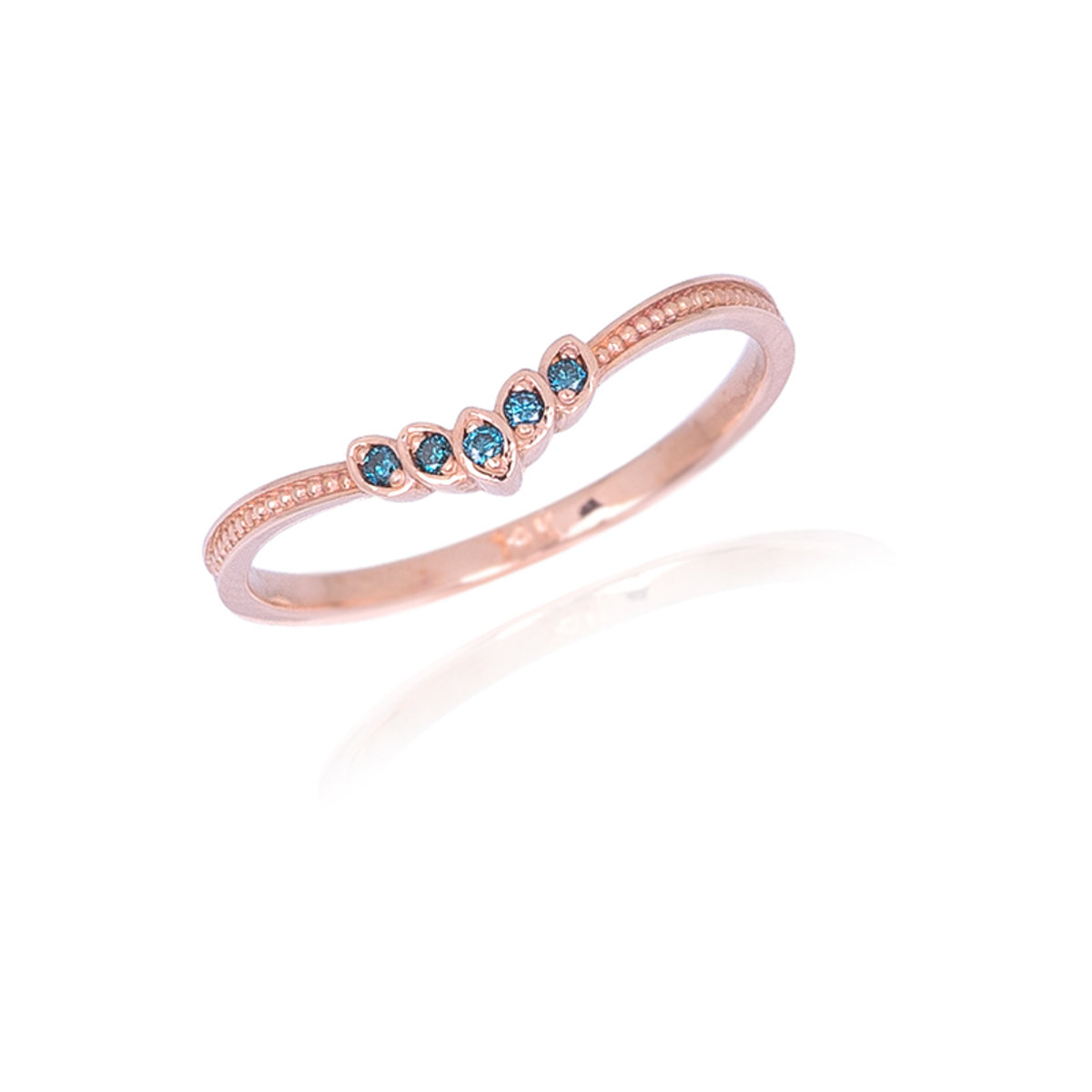 Womens Blue Diamond Ring Lodagold NhyWmw7