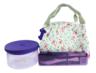 玻璃食物儲存盒連便攜食具旅行套裝