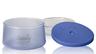 750ml 矽膠塗層雙層玻璃食物儲存盒 - 藍色