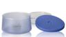 450ml 矽膠塗層雙層玻璃食物儲存盒 - 藍色