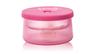 450ml 矽膠塗層雙層玻璃食物儲存盒 - 粉紅色