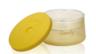 450ml 矽膠塗層雙層玻璃食物儲存盒 - 黃色