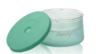 450ml 矽膠塗層雙層玻璃食物儲存盒 - 綠色