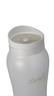 1000ml 矽膠塗層玻璃水瓶 - 白色