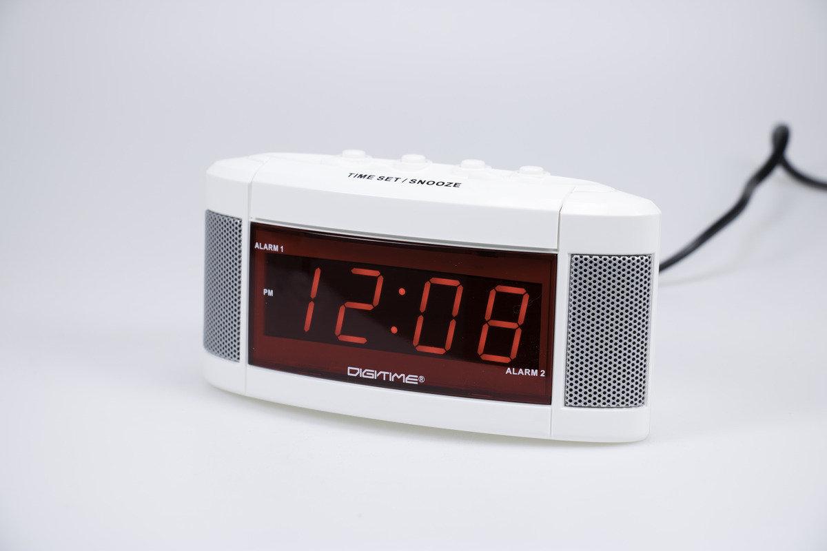 LED 雙鬧鐘 Dual Alarm Clock 簡易設定 簡單設置 翌日重響 時尚 生活 電子 學生 靜音 家居 床頭 夜光 貪睡 小型