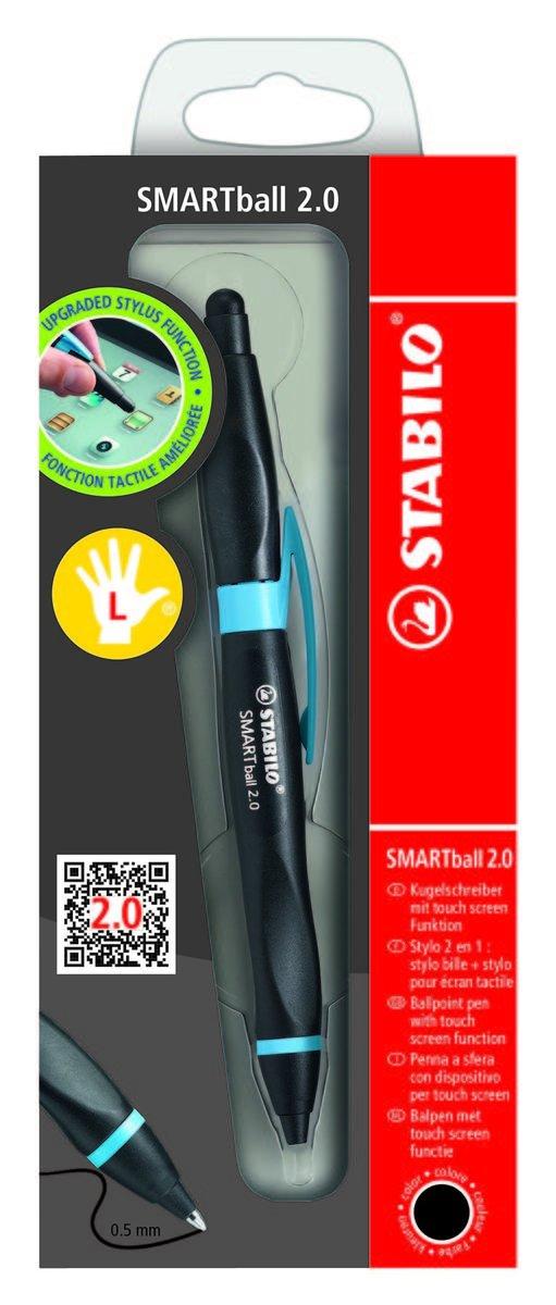 SMARTball 2.0 左手專用 - black/cyan blue