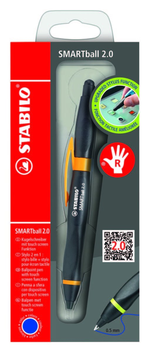 SMARTball 2.0 右手專用 - black/orange