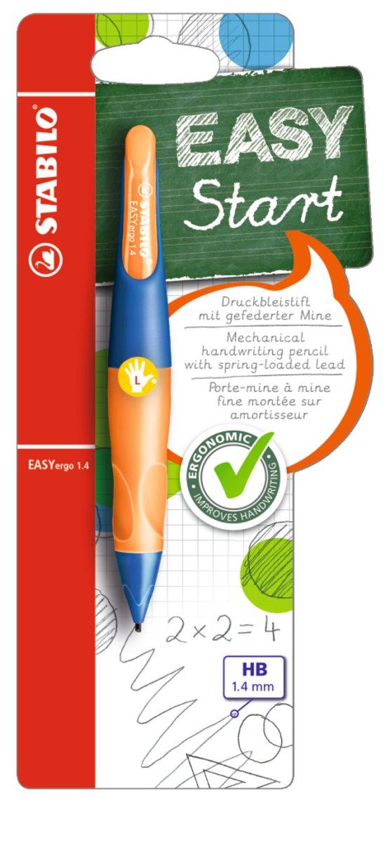 EASYergo 1.4 左手專用 - 螢光橙色