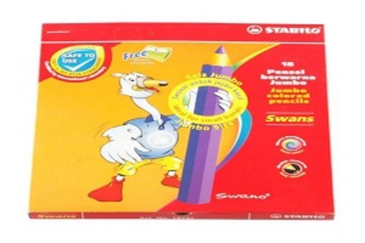 Jumbo 5.0 Lead Colored Pencil 18 colors