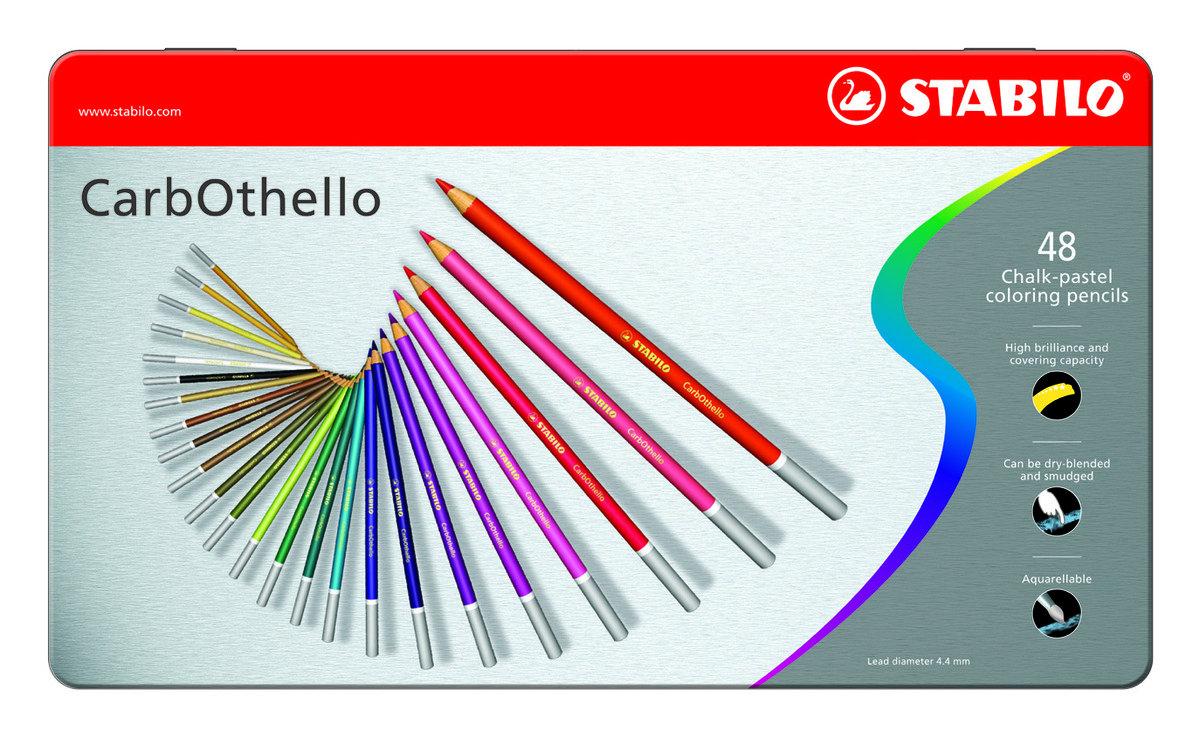 Carbothello Color Pencil 48's