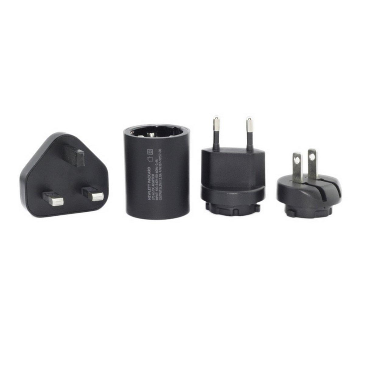2.1A USB 旅行充電器套裝 (可換插腳)