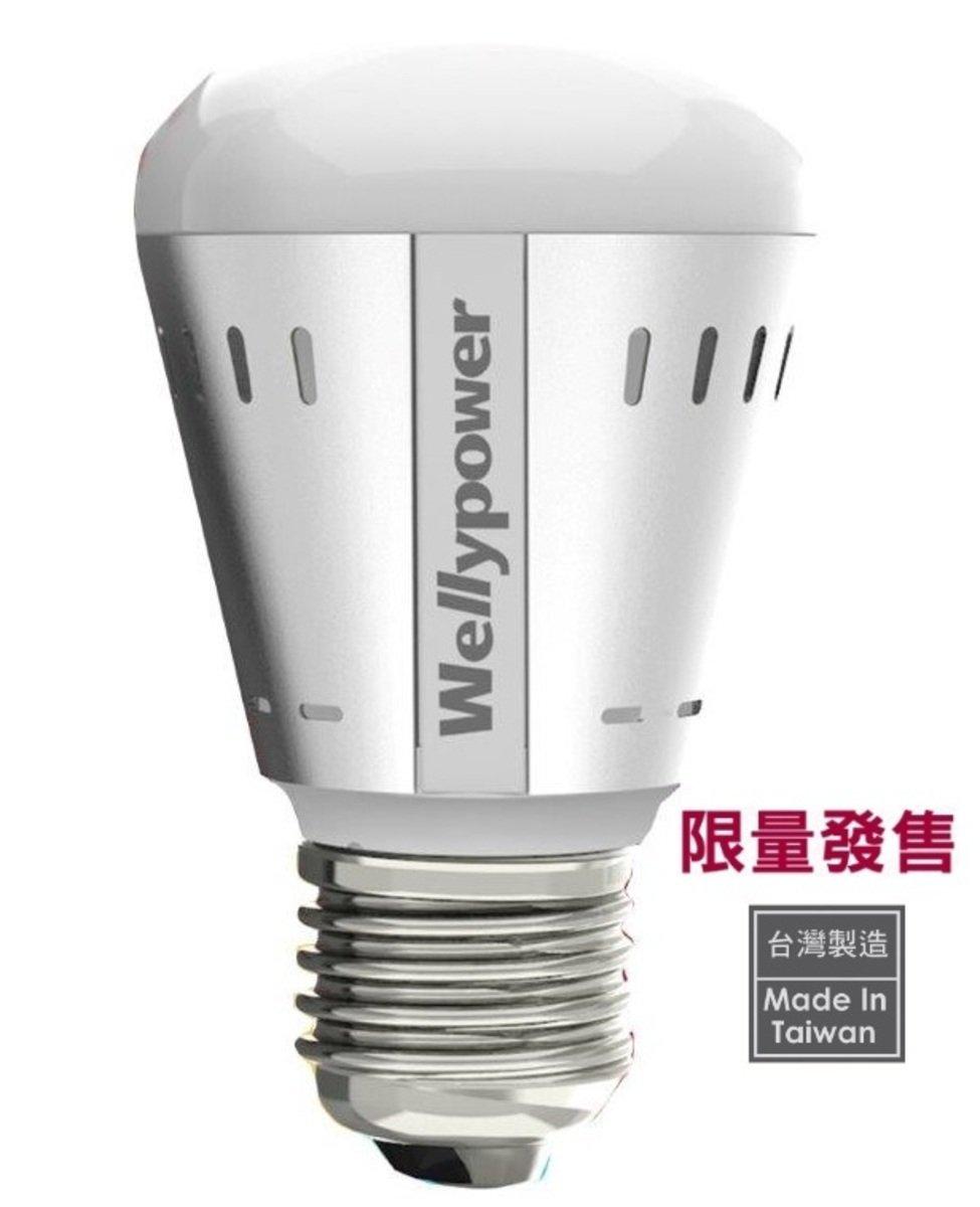 """""""冷月"""" LED 燈泡 7.6W 冷白光 5700K 大螺頭E27"""