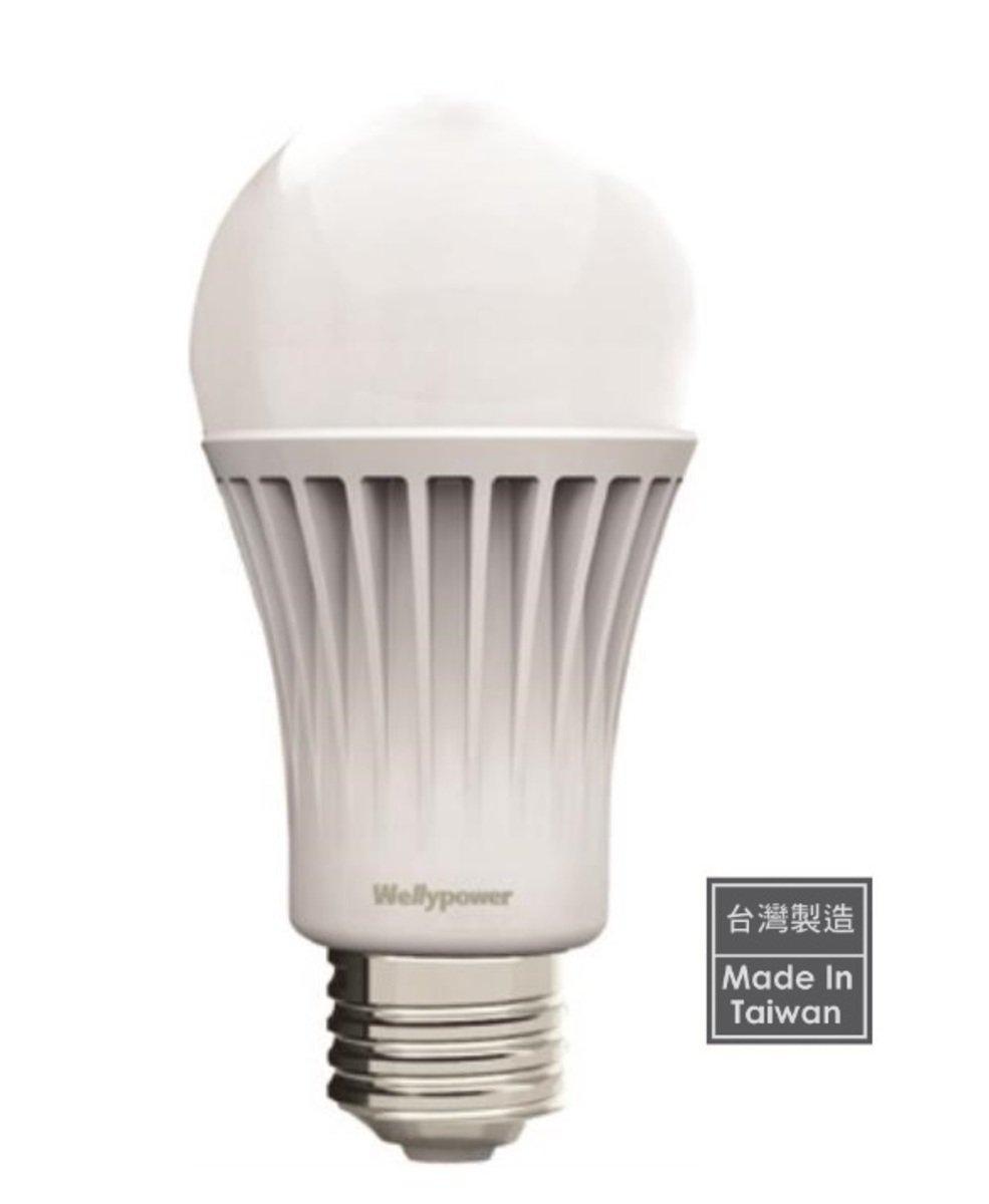 """""""金鑽"""" LED 燈泡 12W 冷白光 6000K 大螺頭E27"""