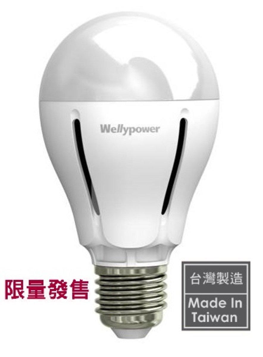 """""""蜂鳥"""" LED 燈泡 8W 冷白光 5700K 大螺頭E27"""
