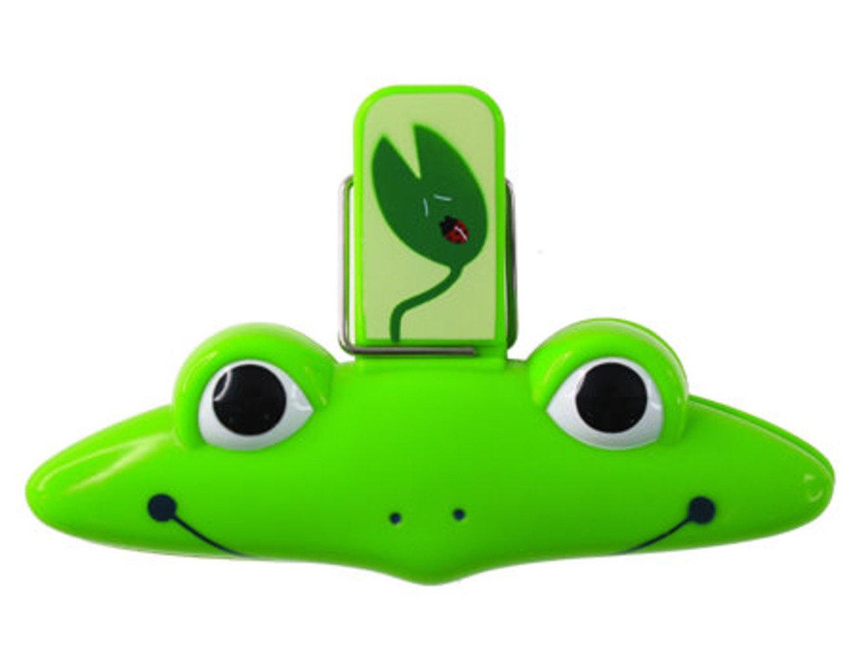 青蛙磁貼袋子夾