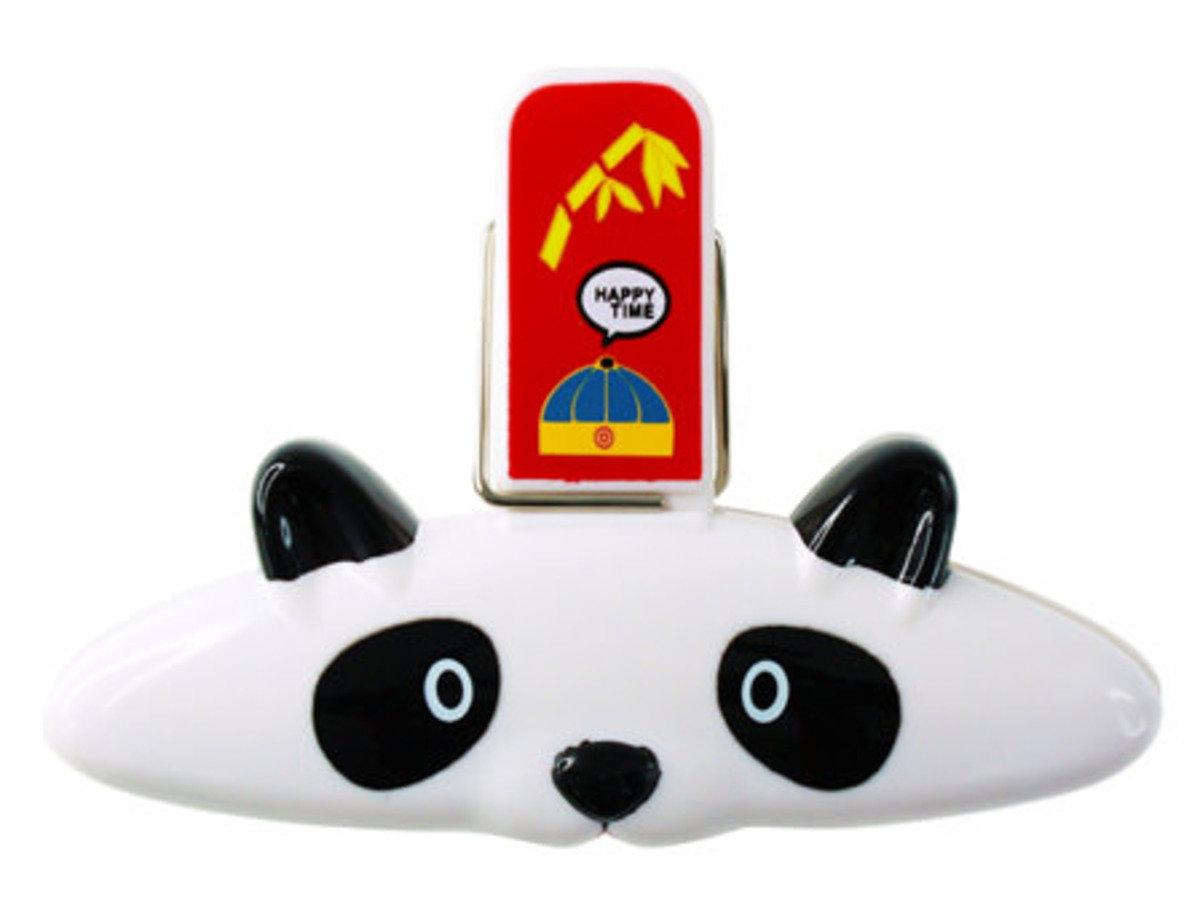 熊貓磁貼袋子夾