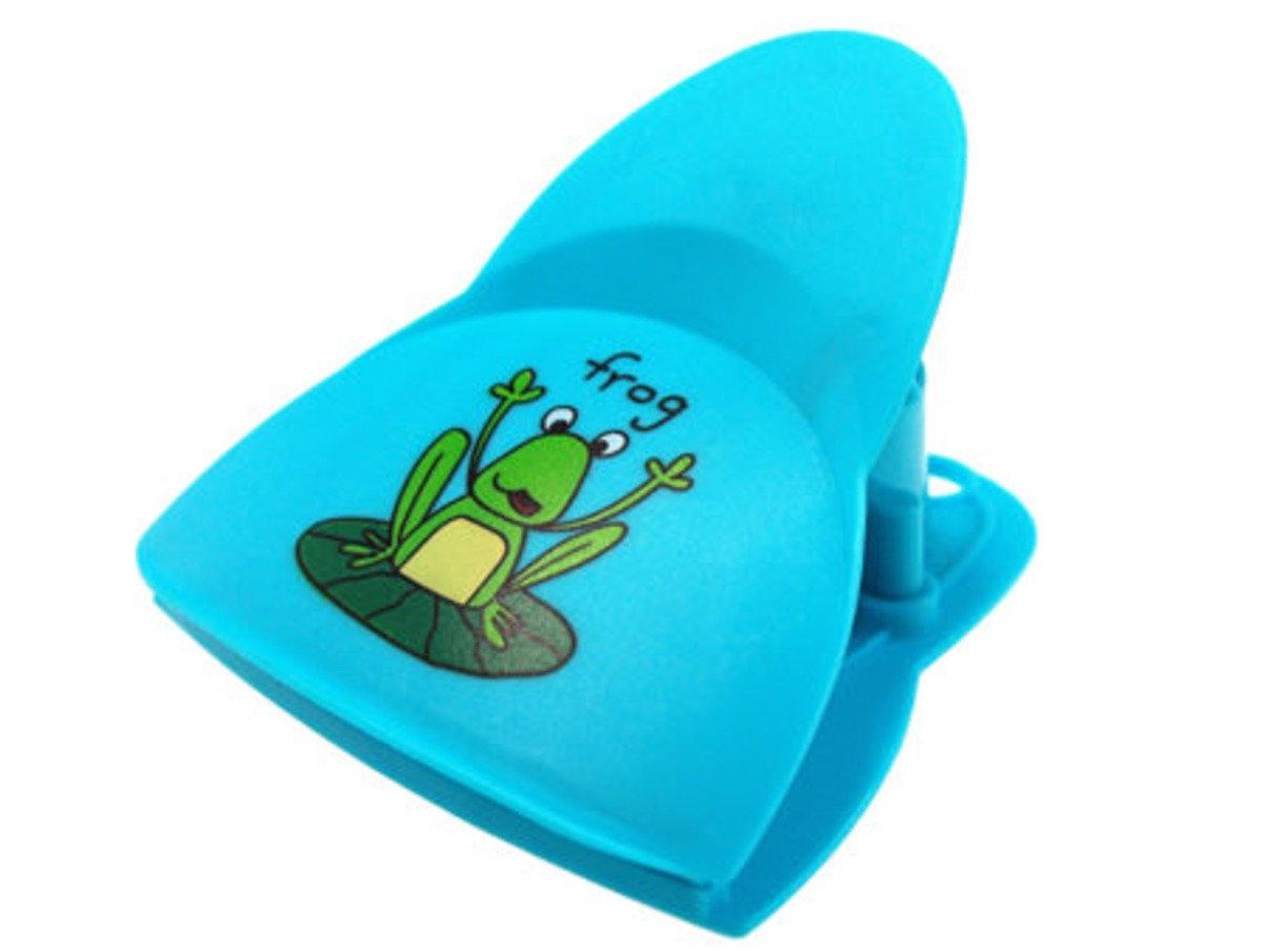 青蛙聲磁貼夾