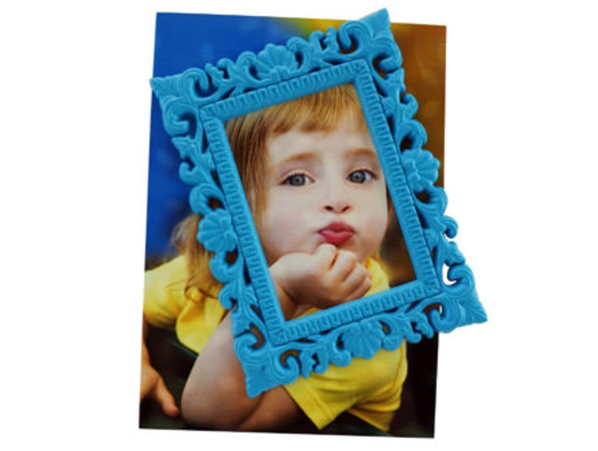 磁性相框 (藍)