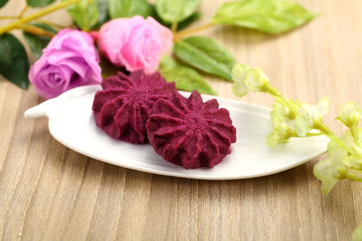 香芋紫薯味曲奇 (100克)