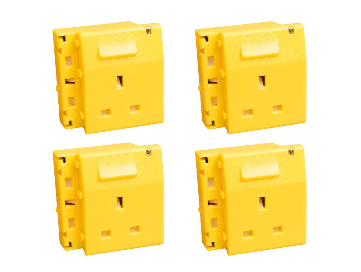 隨插式系列 - 獨立電源插座 (4個裝) (黃色)
