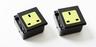 隨插式旅行系列 - 獨立電源插座 (2個裝) (黑色)