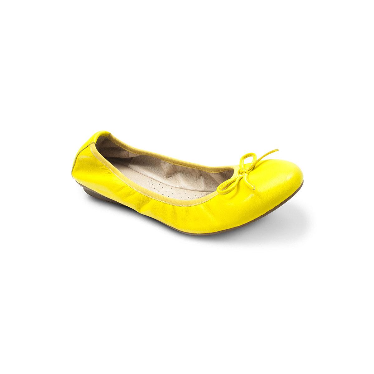真皮平底鞋