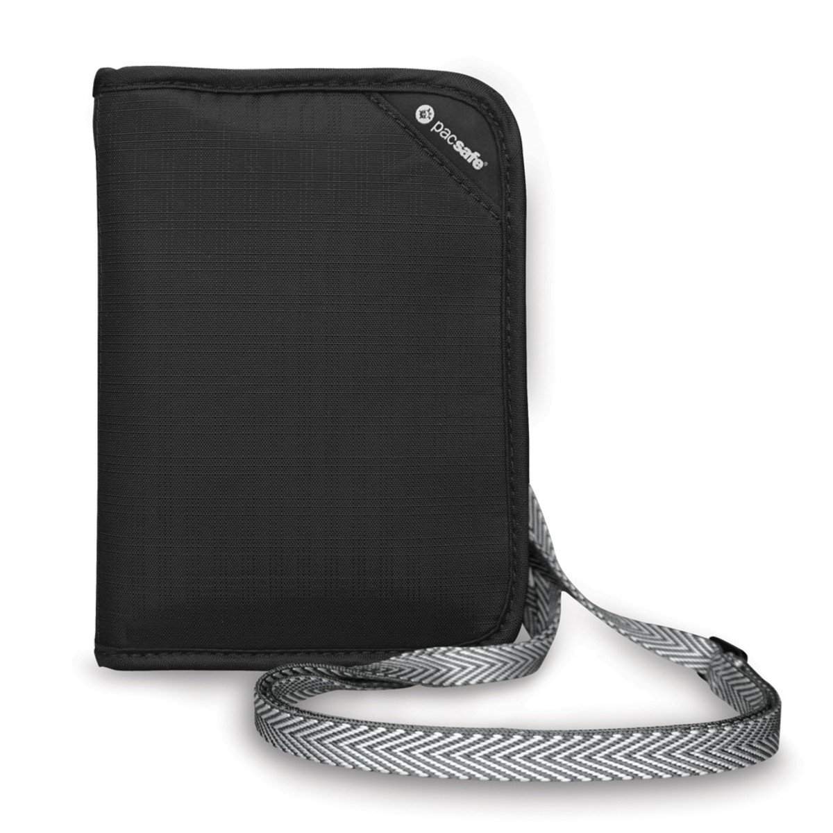 RFIDsafe V150 防盜輕便證件袋(黑色)