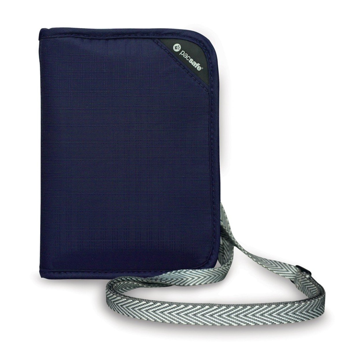 RFIDsafe V150 防盜輕便證件袋(藍色)