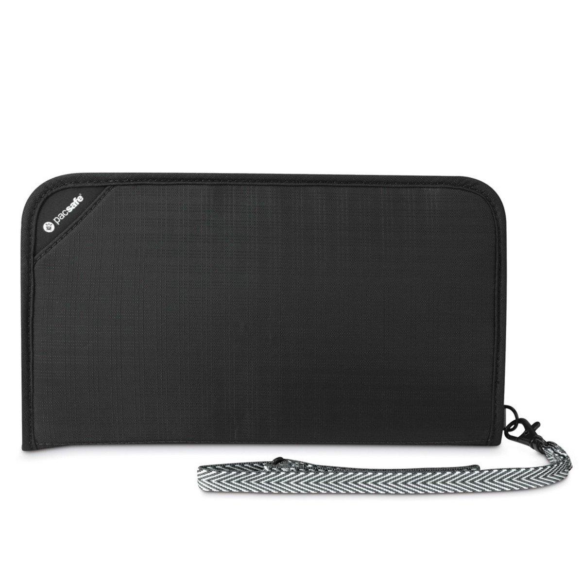 RFIDsafe V200 防盜旅行證件袋(黑色)